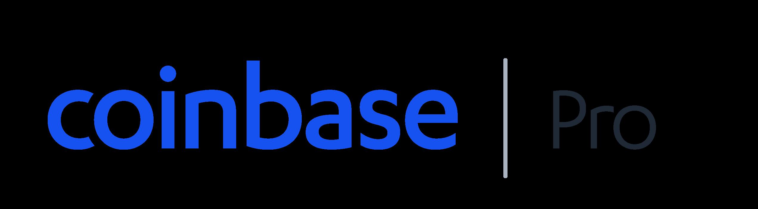 Логотип Coinbase Pro